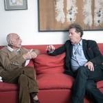 Gillo Dorfles e Sergio Poggianella